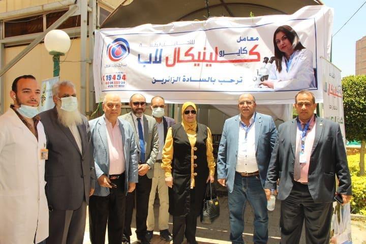 خلال تنظيم يوم صحي مجاني للمهندسين