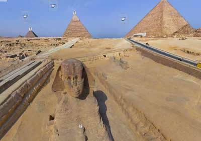 """بالصور.. مدير """"آثار الهرم"""": يكشف عن إنتهاء 90% من أعمال تطوير منطقة الاهرامات"""