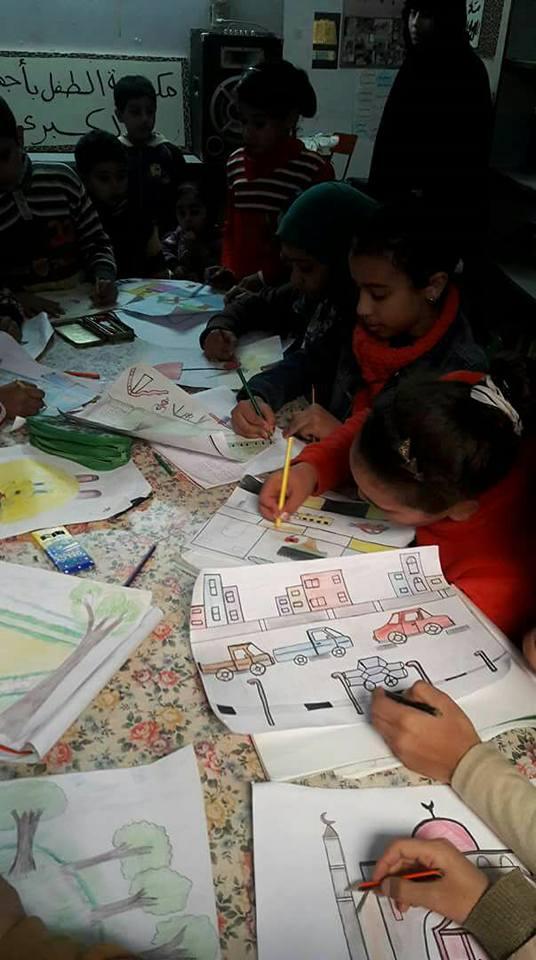 ورش فنية بإقليم القاهرة الكبرى وشمال الصعيد الثقافى