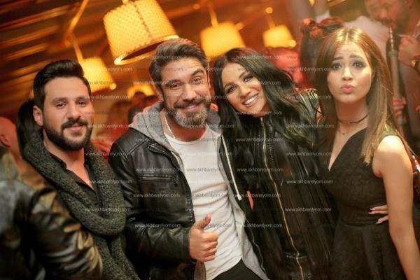 محمد شاهين ومينا عطا ورنا سماحة يحتفلون بعيد ميلاد فاطمة الشاذلي