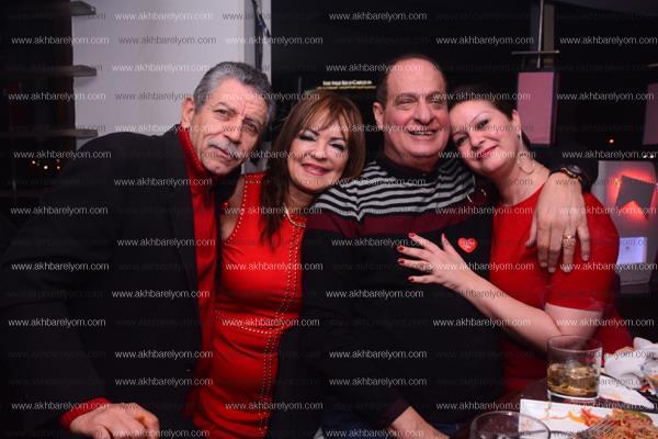 تامر مرسي ونسرين أمين ونهال عنبر يحتفلون بـ«عيد الحب»