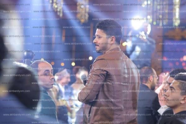 الليثي وصوفينار وحجاج يتألقون فى زفاف محمد وياسمين