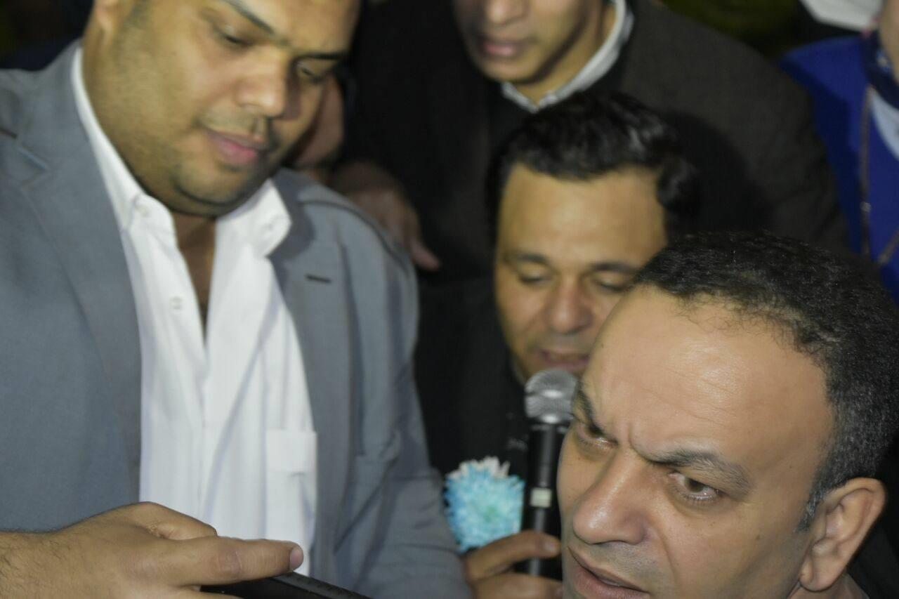 محمد فؤاد يلهب حماس أعضاء سموحة