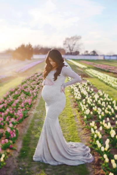 فساتين سهرة للمراة الحامل