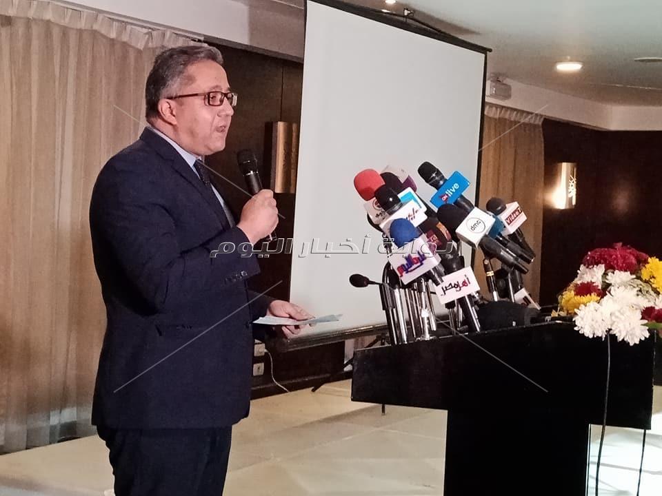 العناني يفتتح المؤتمر الدولي الرابع لتوت عنخ آمون