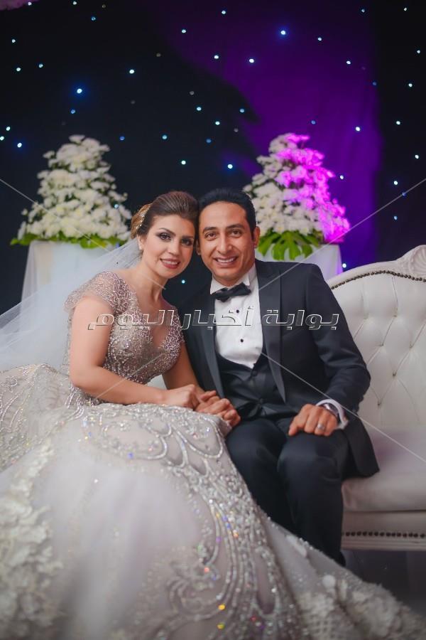 سعد الصغير وسبايسي ميكس يشعلون زفاف محمد حسين وأسماء سمير