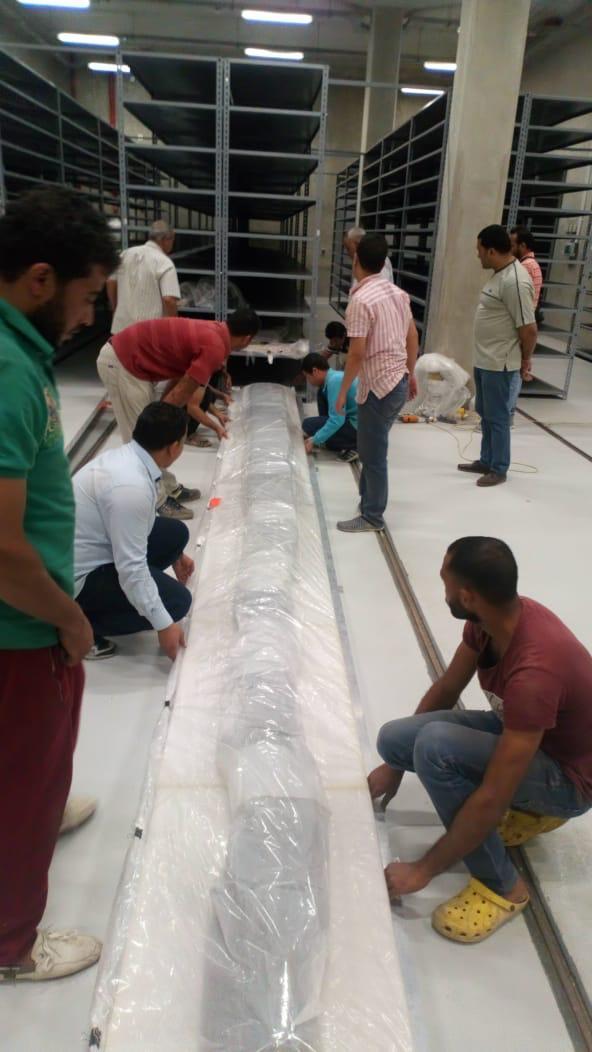 المتحف المصري الكبير يستقبل 180 قطعة أثرية جديدة