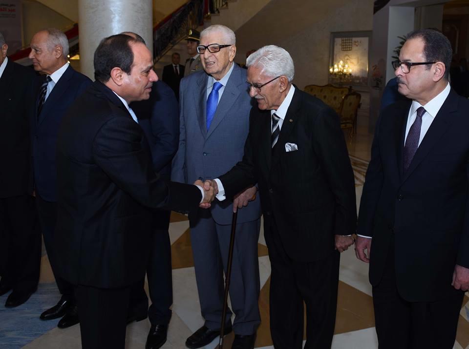 الرئيس السيسي يشارك في حفل إفطار القوات المسلحة بمناسبة ذكرى العاشر من رمضان