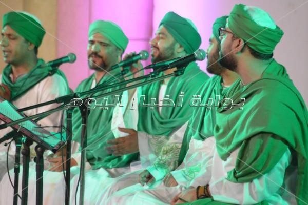 «حضرة الإنشاد الديني» تُبدع في ليلة رمضانية بالأوبرا