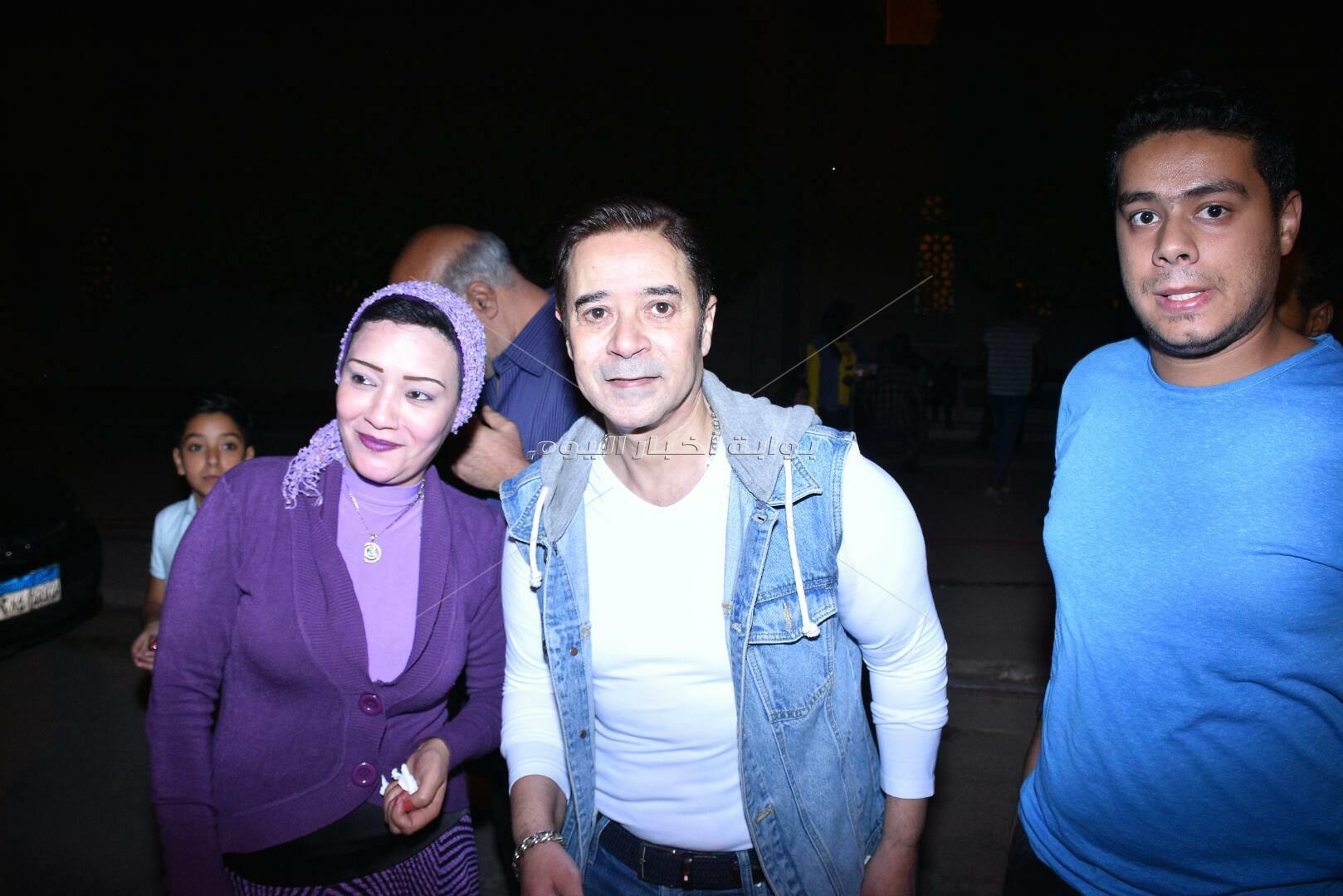 مدحت صالح يُطرب جمهوره في ليلة رمضانية بالأوبرا