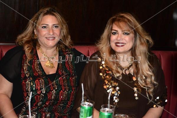 إيمان ساركيس ونهال عنبر في سحور إيهاب الأسعد