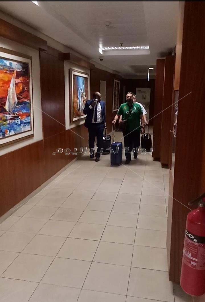 عبد الغني و البدري ويوسف  يغادرون إلى روسيا