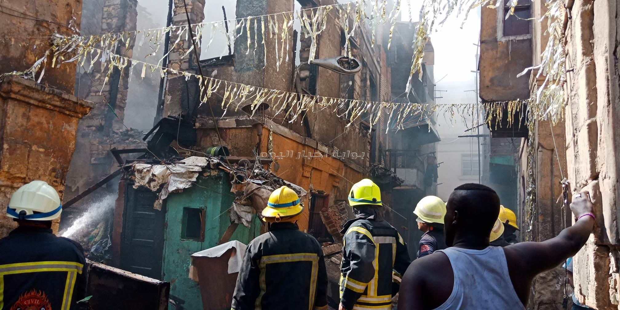 أخبار اليوم تشارك في «إطفاء حريق بولاق»