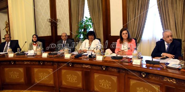 د. مصطفى مدبولي يترأس أول اجتماع للحكومة _ تصوير: أشرف شحاتة