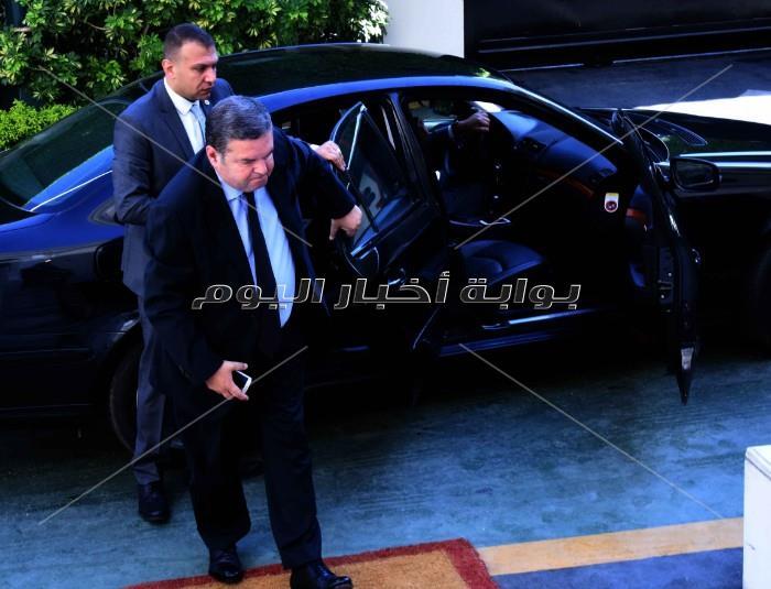 لحظة وصول الوزراء _ تصوير: أشرف شحاتة