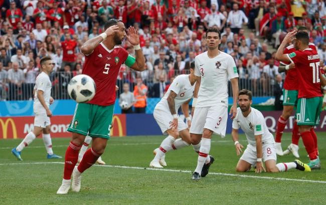 ملخص مباراة المغرب والبرتغال