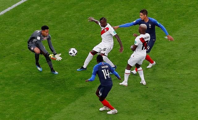 روسيا 2018| «مبابي» يؤهل فرنسا ويقصي بيرو في مباراة متكافئة