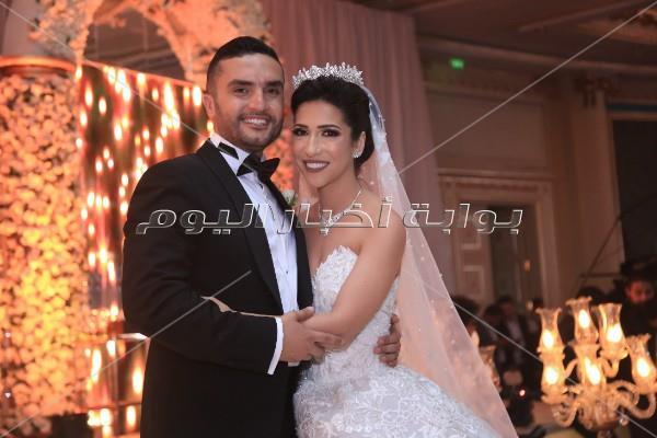 كارول سماحة وبوسي وجوهرة نجوم زفاف «يوسف وميرام»