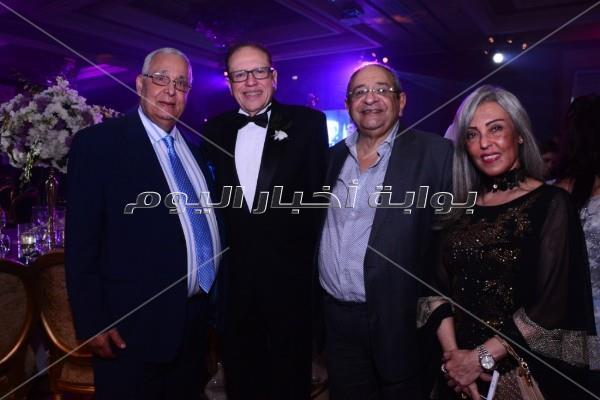 حماقي وآلا كوشنير يشعلان زفاف حازم حسن ولينا المصري