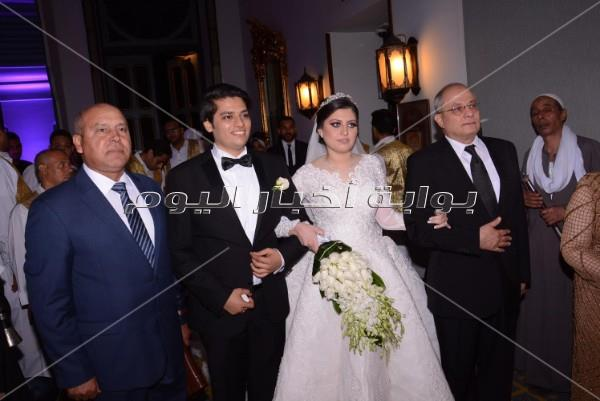 مصطفى قمر وشيبة وبوسي نجوم زفاف نجل أحمد الفضالي