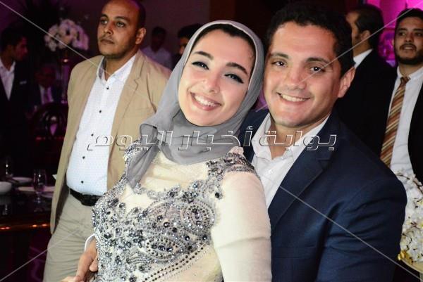 رامي صبري وسعد الصغير وبوسي نجوم زفاف «يوسف وسارة»