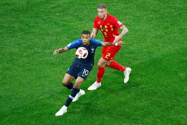 مباراة فرنسا وبلجيكا