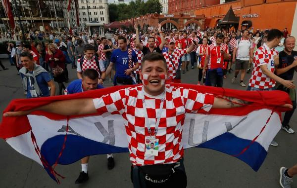 جماهير إنجلترا وكرواتيا