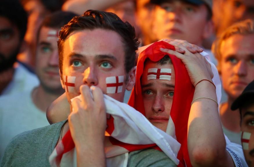 صدمة جماهير إنجلترا عقب ضياع حلم المونديال