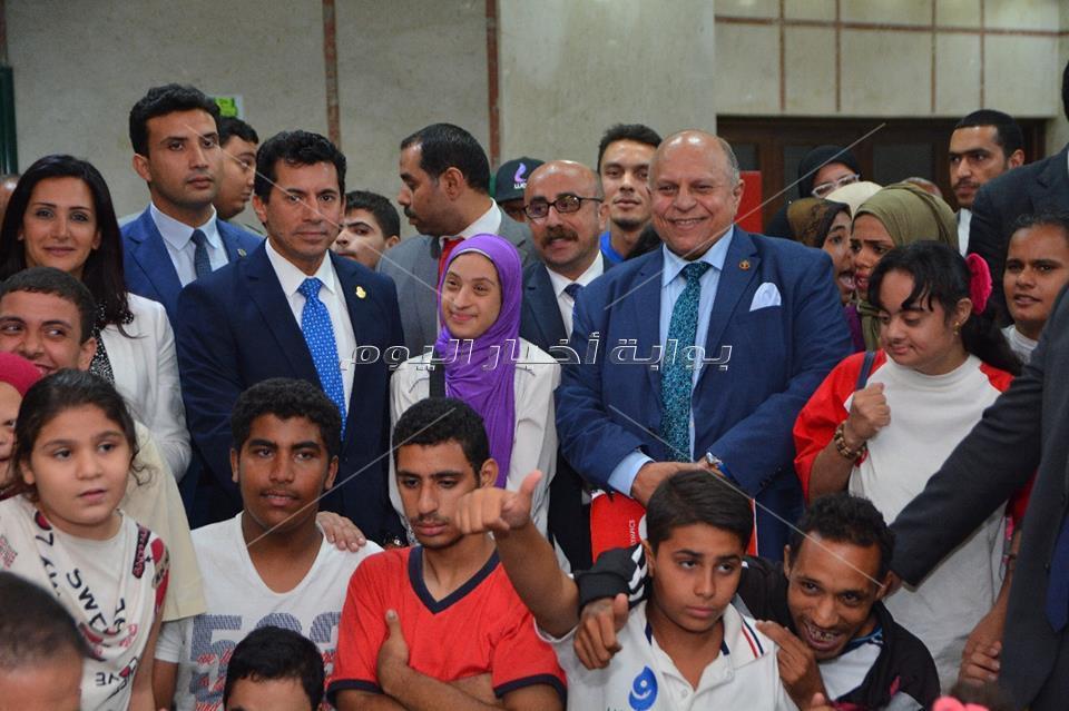 إعلان  مشاركة مصر  بكأس العالم للأولمبياد الخاص لكرة القدم الموحدة النسائية
