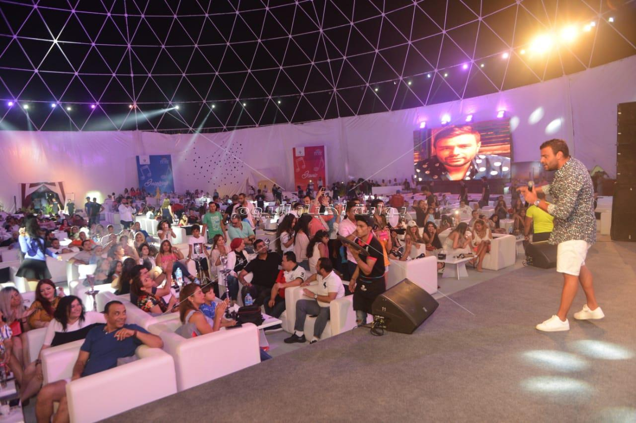 حفل رامي صبري في العلمين الجديدة