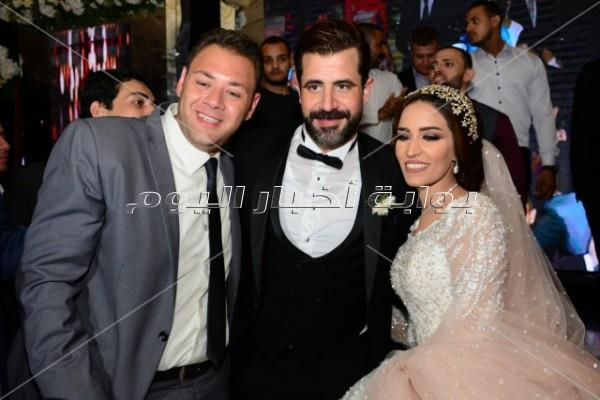 نجوم الفن يحتفلون بزفاف محمود حافظ