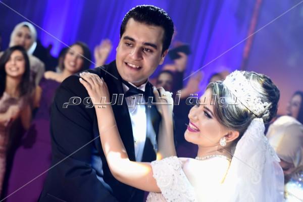 زفاف «سلامة وسندس» برعاية الليثي وبوسي