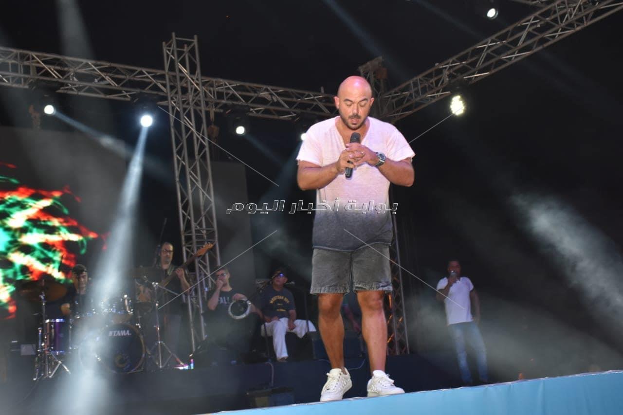 محمود العسيلي في «جولف مارينا»