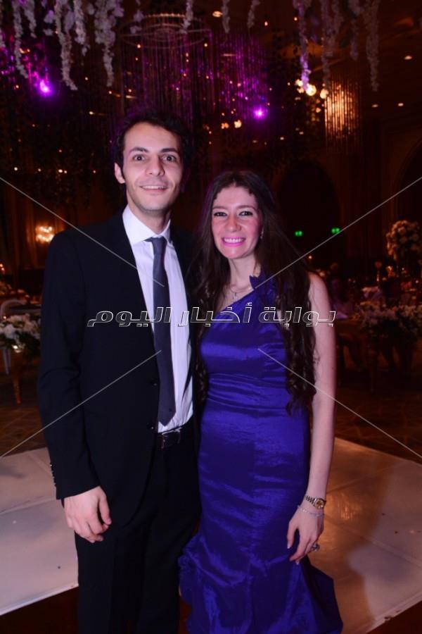 دياب يحتفل بزفاف «محمود وحبيبة»