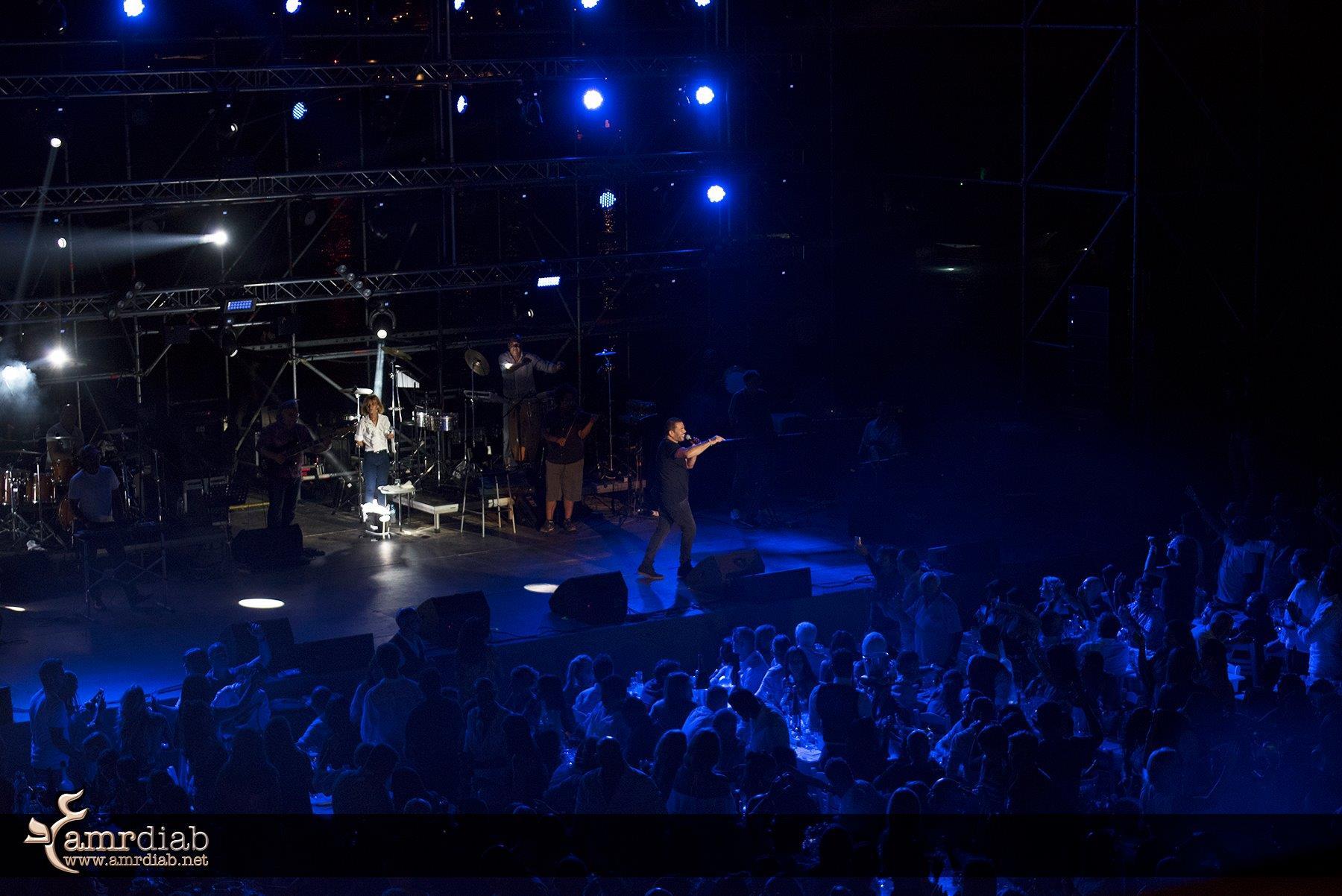حفل عمرو دياب في اليونان