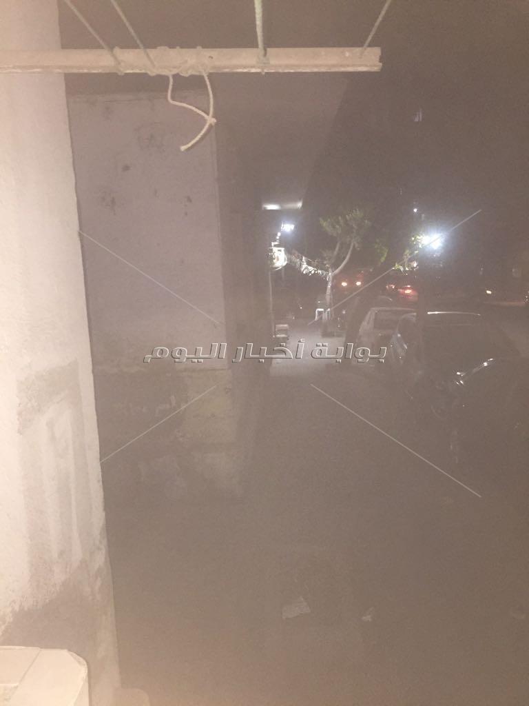 الظلام يخيم على شارع بن خالدون