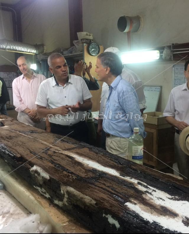 جولة وزير خارجية إيطاليا في الأهرامات والمتحف المصري الكبير