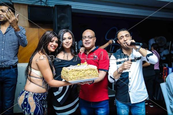 مجدي الشافعي يحتفل بعيد ميلاد نجلتة بحضور سعد الصغير ونجوم ستار أكاديمي