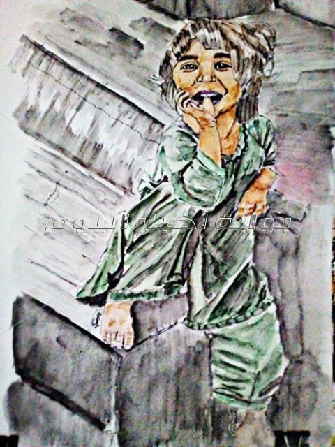 إبداعات القراء| صور.. لوحات فنية لسارة سعيد