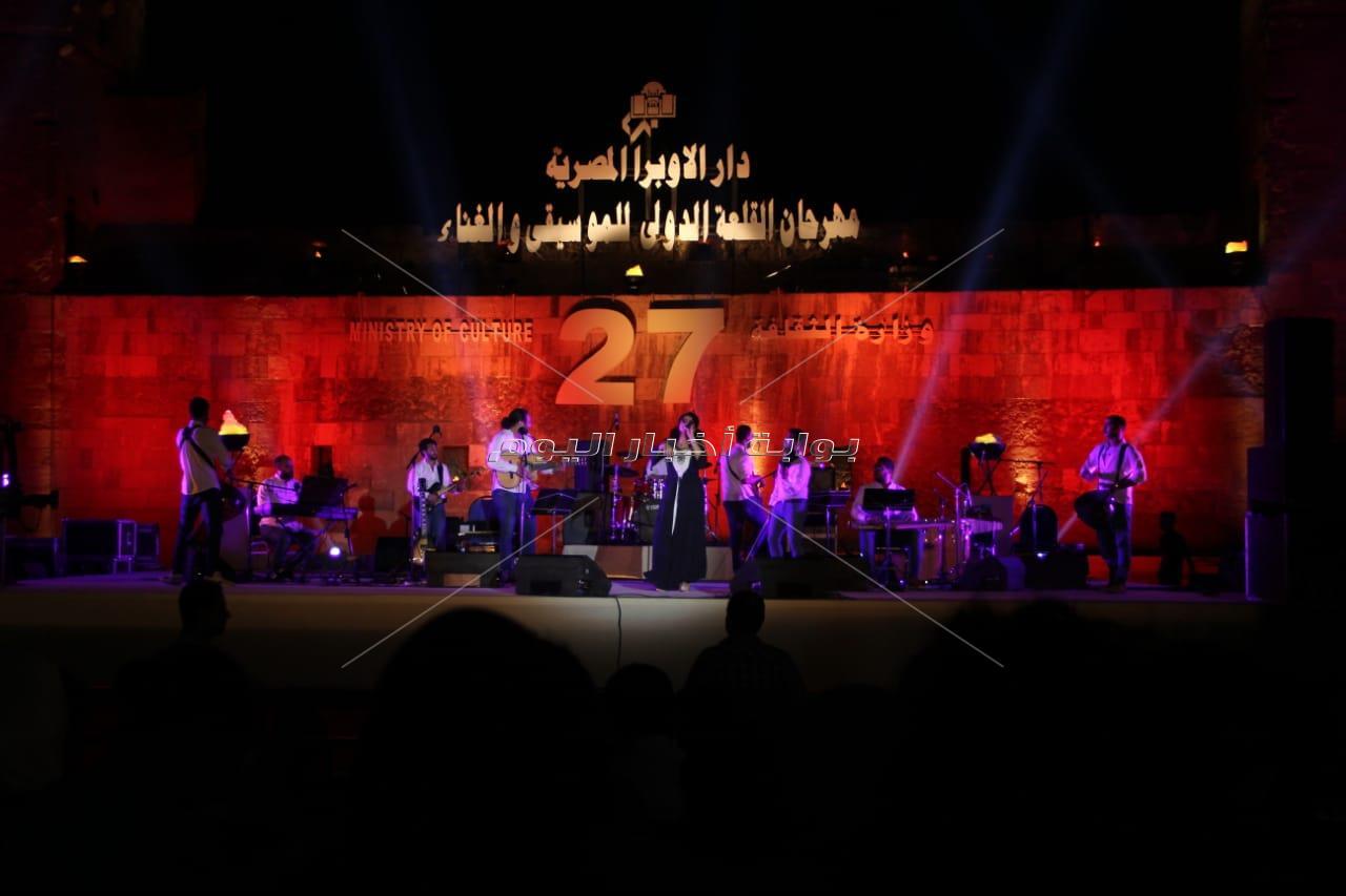 نسمة محجوب تُشعل مهرجان «القلعة» بحضور جماهيري ضخم
