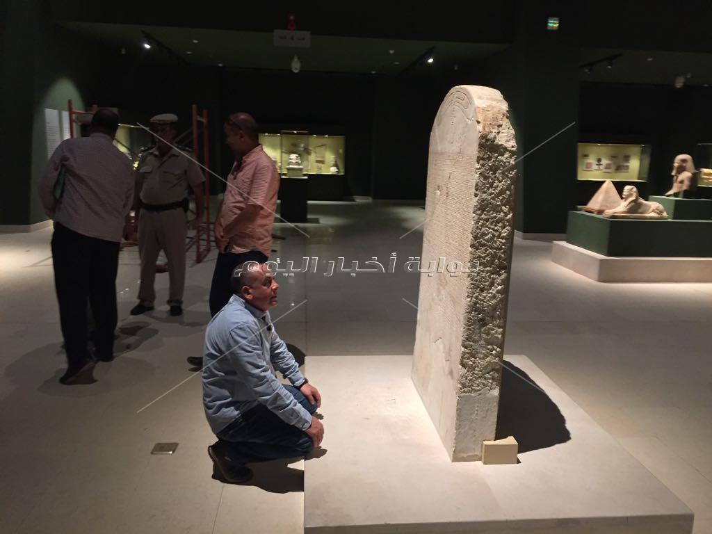 وزير الآثار يتفقد متحف سوهاج القومي