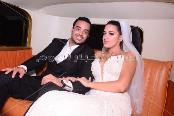 رامي صبري وأحمد جمال يحتفلان بزفاف الإعلامية إلهام وجدي