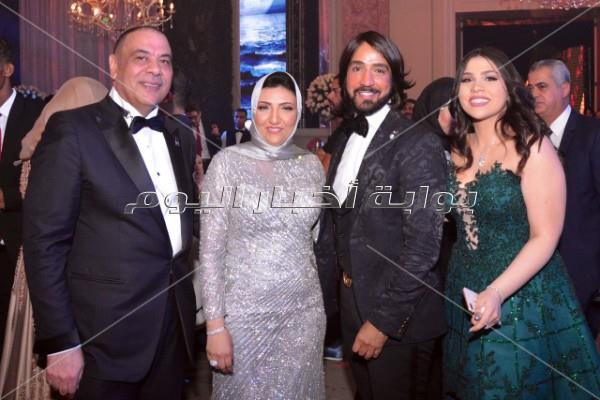 راغب علامة وتامر حسني يُشعلان زفاف «أحمد ورنا»