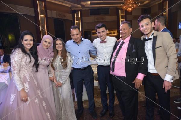 أحمد سعد وأمينة يُشعلان زفاف «أحمد ويسرا»