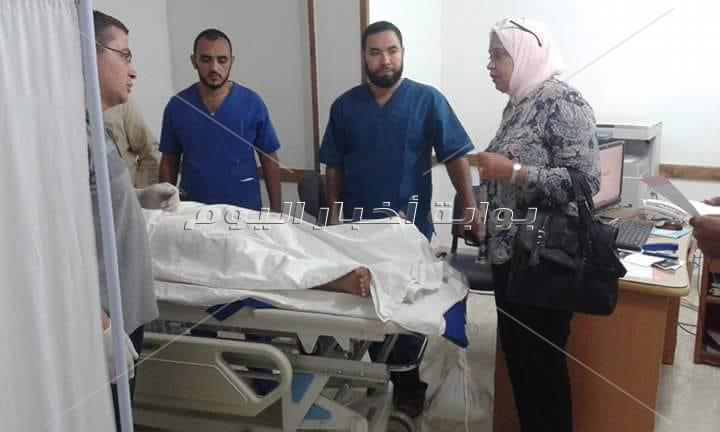 المصابين فى حادث مرسى علم