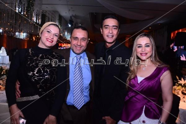 أهل الفن والمشاهير يحتفلون بزفاف نجل خالد زكي