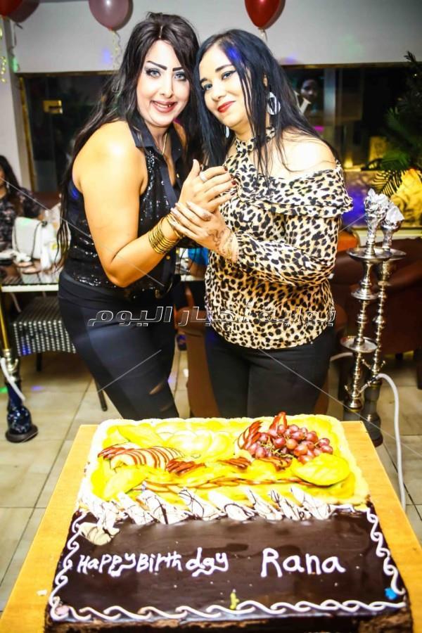 فنانون يشاركون الفنانة التشكيلية رانا العزام الاحتفال بعيد ميلادها