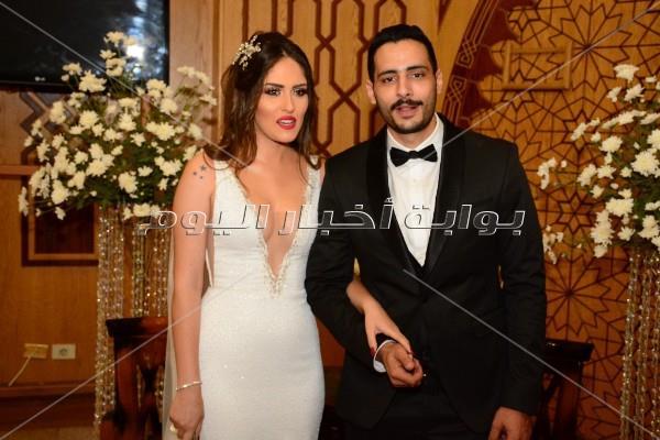 60 صورة لنجوم مسرح مصر من عقد قران حامد الشراب