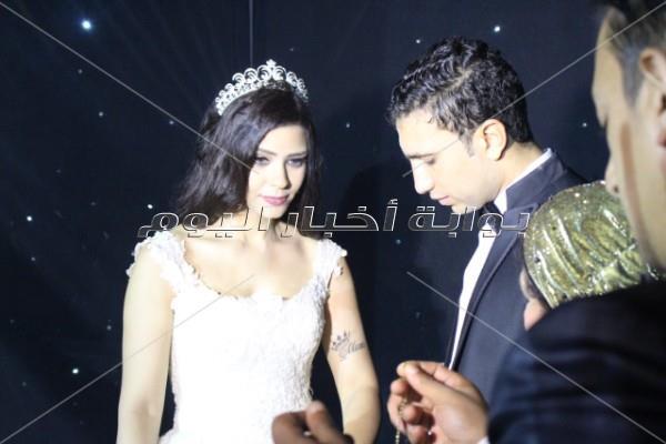 أحمد أدم في حفل زفاف «هادي ونانسي»