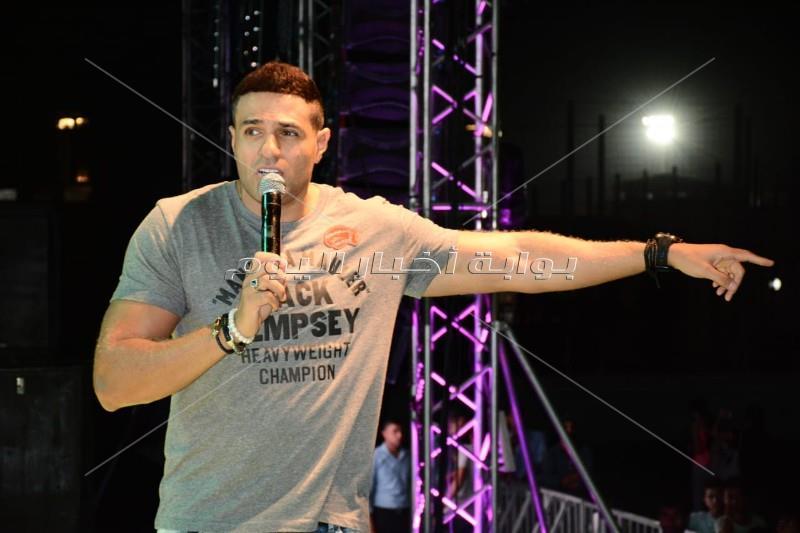 محمد نور يُحيي أولى فقرات حفل نادي مدينتي